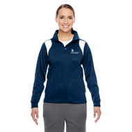 SON Team 365 Ladies' Elite Performance Quarter-Zip - Navy/White