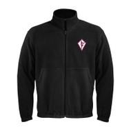 SDC Coal Harbour Men's Polar Fleece Jacket - Black (SCD-011-BK)