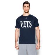 WNV Under Armour Men's Short Sleeve Locker T -Shirt - Navy (WNV-003-NY)