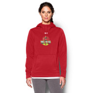 OCAA Under Armour Women's Storm Armour Fleece Hoody - Red (OCA-021-RE)