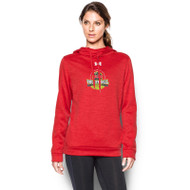 OCAA Under Armour Women's Novelty Armour Fleece Hoody - Red (OCA-023-RE)