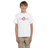 ROB Gildan Ultra Cotton Youth T-Shirt - White (ROB-046-WH)