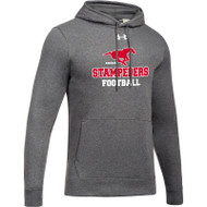 BMF Under Armour Men's Hustle Fleece Hoody - Carbon (BMF-009-CB)