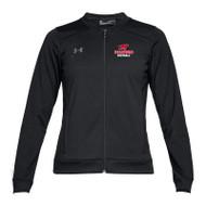 BMF Under Armour Women's Challenger Track Jacket - Black (BMF-023-BK)