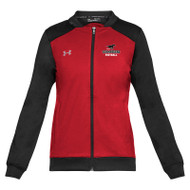 BMF Under Armour Women's Challenger Track Jacket - Red (BMF-023-RE)