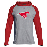 BMF Under Armour Men's Stadium Hoody - Red/Steel (BMF-028-RE)
