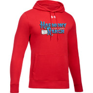 45TH Anniversary Under Armour Men's Hustle Fleece Hoodie - Red (HRR-123-RE)