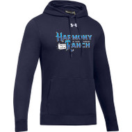 45TH Anniversary Under Armour Men's Hustle Fleece Hoodie - Navy (HRR-123-NY)