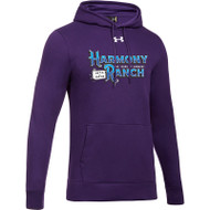 45TH Anniversary Under Armour Men's Hustle Fleece Hoodie - Purple