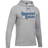 45TH Anniversary Under Armour Men's Hustle Fleece Hoodie - True Grey