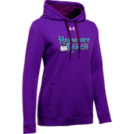 45TH Anniversary Under Armour Women's Hustle Fleece Hoodie - Purple (HRR-261-PU)