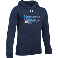 45TH Anniversary Under Armour Youth Hustle Fleece Hoodie - Navy (HRR-329-NY)