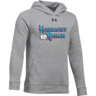 45TH Anniversary Under Armour Youth Hustle Fleece Hoodie - True Grey (HRR-329-GY)