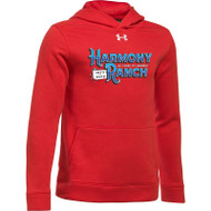 45TH Anniversary Under Armour Youth Hustle Fleece Hoodie - Red (HRR-329-RE)