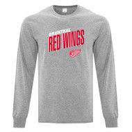 GRW ATC Adult Cotton Long Sleeve Tee - Athletic Heather (GRW-002-AH)