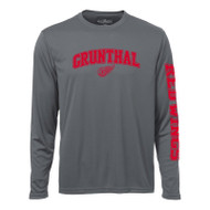 GRW ATC Adult Performance Long Sleeve Tee - Coal Grey (GRW-005-CG)