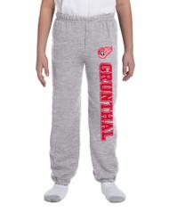 GRW Youth Gildan Sweatpants - Oxford Grey (GRW-306-OG)
