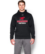 BMFA Under Armour Mens Storm Fleece Team Hoodie - Black
