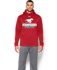 BMFA Under Armour Storm Armour Fleece Team Men's Hoody - Red