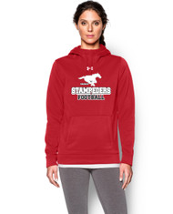 BMFA Under Armour Storm Armour Fleece Team Women's Hoody - Red
