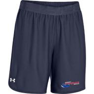 Newmarket Stingrays UA Every Team's Armour Short - Women's - Navy/White