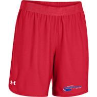 Newmarket Stingrays UA Every Team's Armour Short - Women's - Red/White