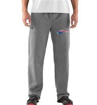 Newmarket Stingrays UA Armour Men's Fleece Team Pant - Grey/White