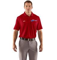 Newmarket Stingrays UA Performance Team Polo - Red/White - Men's