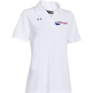 Newmarket Stingrays UA Performance Team Polo - White - Women