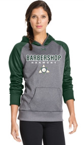 Ontario District - Under Armour Ladies Hoody - Carbon/Forest