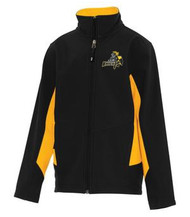 CMFA Coal Harbour Soft Shell Youth Jacket - Black/Gold