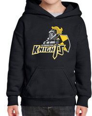 CMF Gildan Heavy Blend 1850 Youth Hooded Sweatshirt - Black