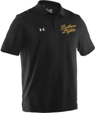 TNL Under Armour Men's Performance Team Polo - Black