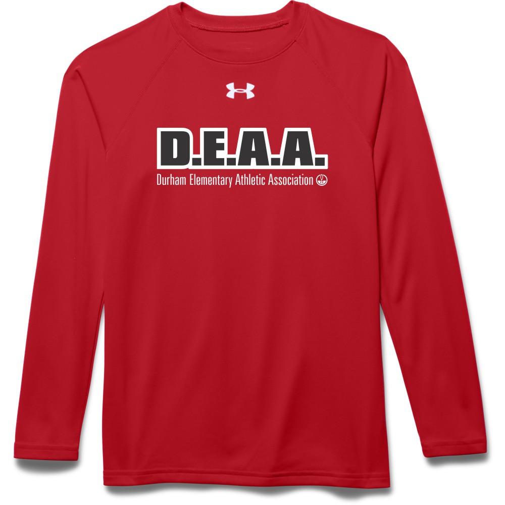 aaf89ab9 DEAA Under Armour Youth Long Sleeves Locker Tee - Red | YouWear.ca