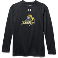 CMFA Under Armour Youth Long Sleeve Locker Tee - Black