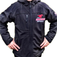 BMFA Blizzared Adult Winter Softshell With Hood - Black