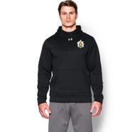 QOR Under Armour Men's Storm Armour Fleece Hoody Crest 1 - Black