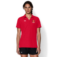 AJX Under Armour Women's Performance Polo - Red