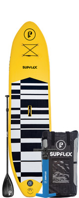 10' FUN Yellow Inflatable SUP Package