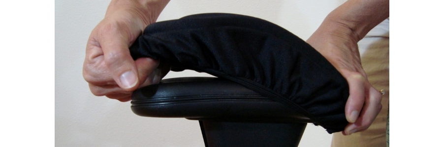 Superior Ergo360 Soft Genuine Memory Foam Office Chair Arm Pad Covers Offer  Excellent Support And Cushioning.