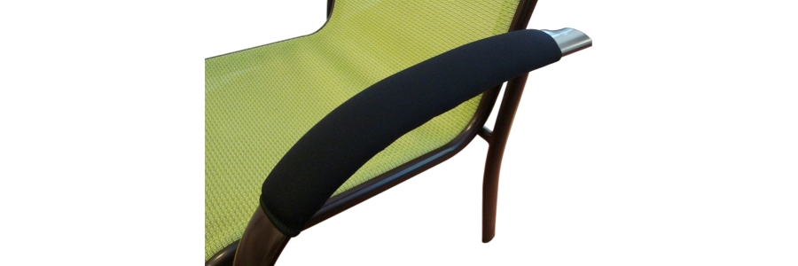Ergo360 Soft Neoprene Armrest Covers For Railing And Loop Style Chair  Armrests. Complete Set Of