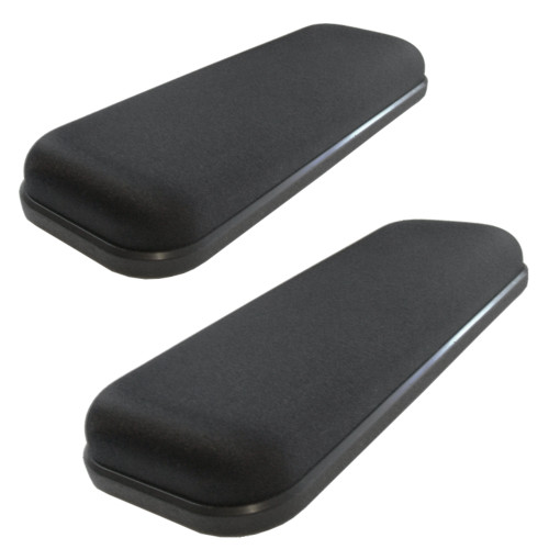 Ultimate Gel Armrests Offer Maximum Comfort With Thick Gel Cushioning, For Office Chairs And Wheelchairs.