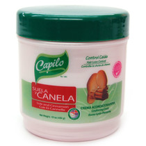 Capilo Suela y Canela (Sole and Cinnamon) Hair loss Control Conditioning Cream 16 oz