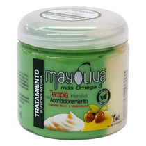 MayOliva Intensive Conditioning Therapy For Dry & Damaged Hair 16 oz