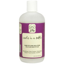 Curl Junkie Curls in A Bottle! Hair Styling Solution 12 oz