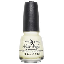 China Glaze Flat Finish Top Coat, Matte Magic 81897, 0.5 oz