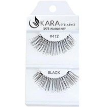 Kara Human Hair Eyelashes #412