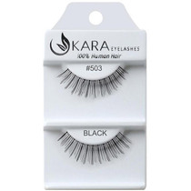 Kara Human Hair Eyelashes #503