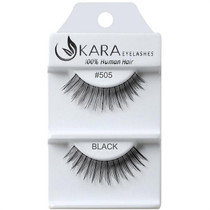 Kara Human Hair Eyelashes #505