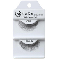 Kara Human Hair Eyelashes #606